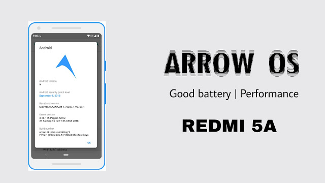 Arrow Os Custom Rom For Redmi 5a