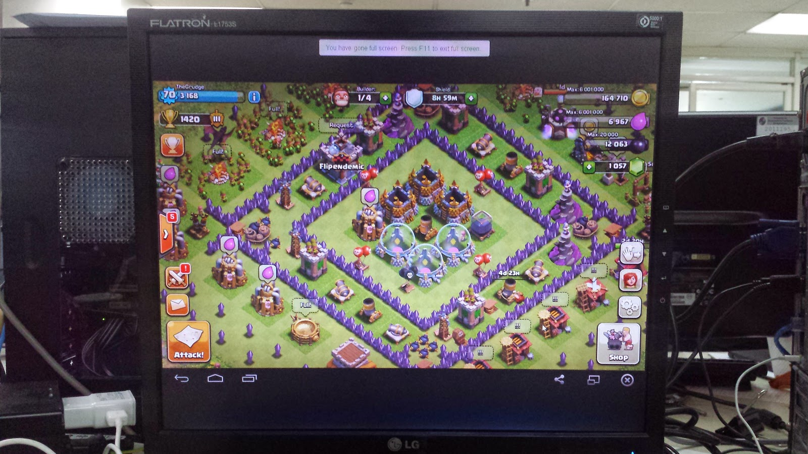 can you play clash of clans on computer