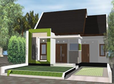 desain rumah sederhana di kampung
