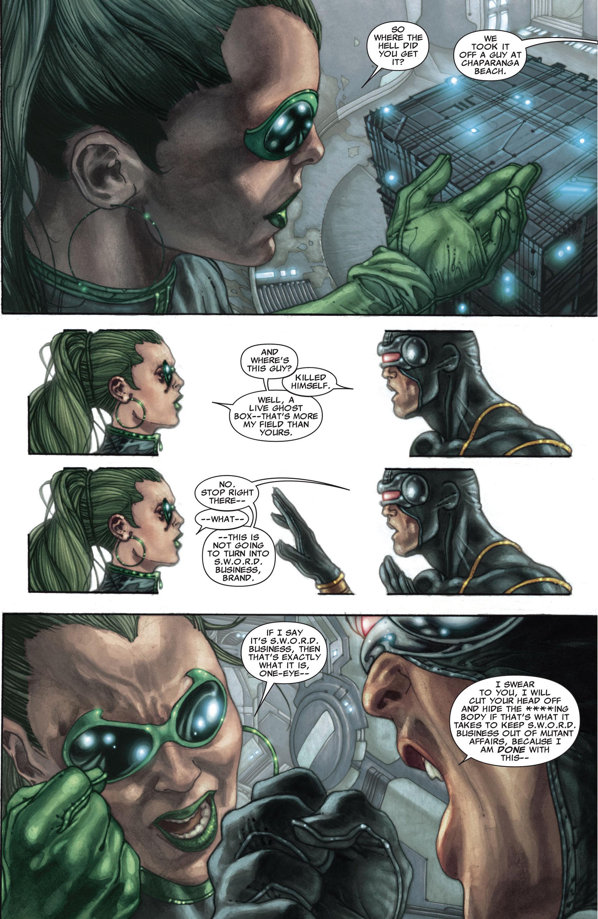 Read online Astonishing X-Men (2004) comic -  Issue #27 - 12