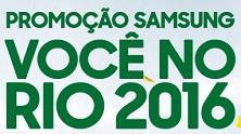 Participar Promoção Samsung Você No Rio 2016