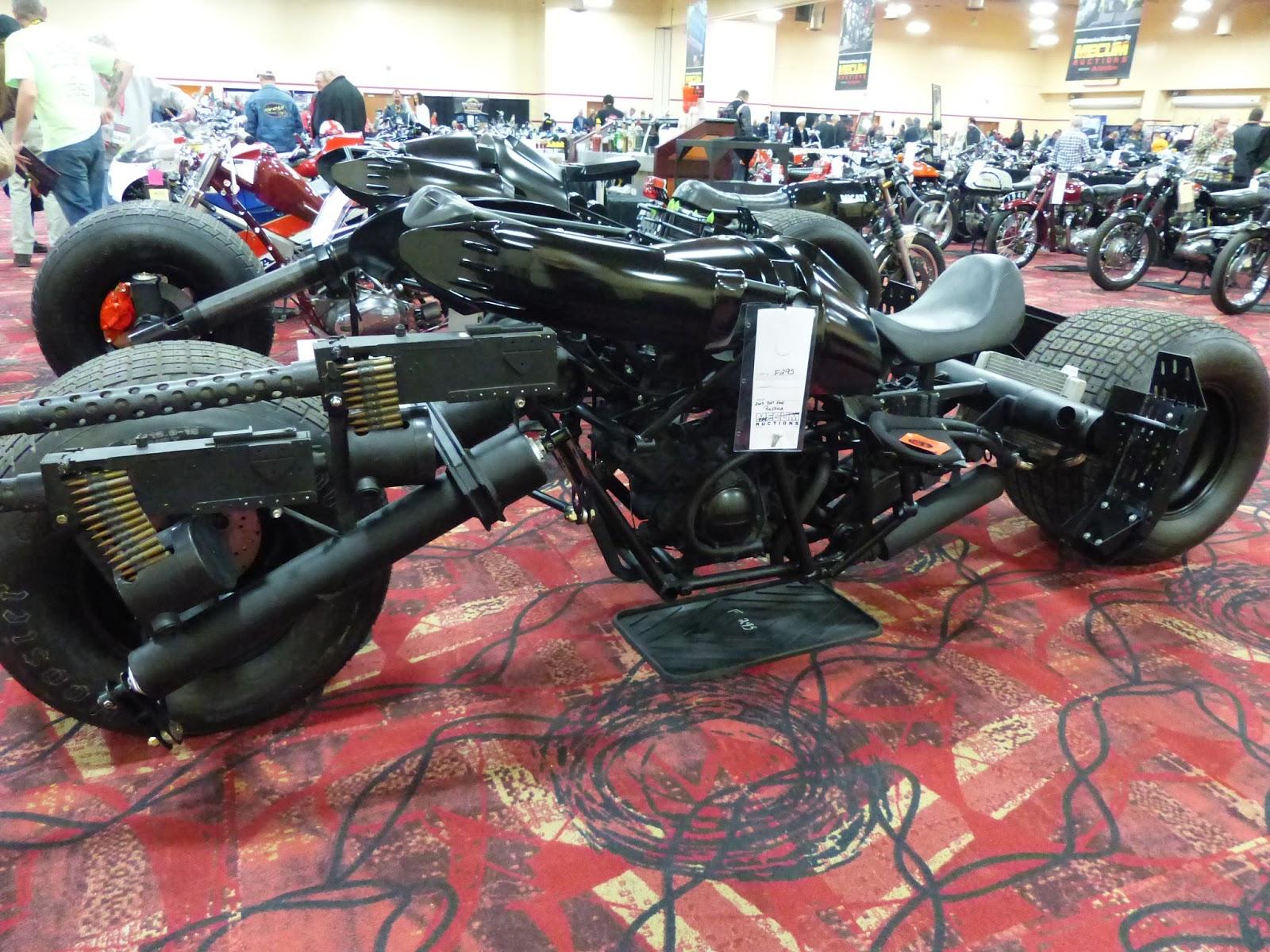 OldMotoDude: 2008 Bat Pod replica for sale at the 2016 Mecum Las ...