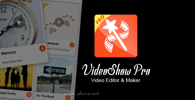 Download VideoShow Pro Apk Full Terbaru Gratis