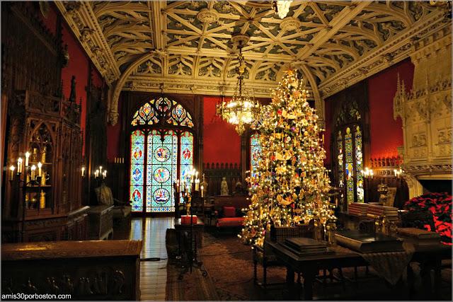 Salón Gótico de Marble House, Newport