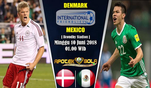 Prediksi Denmark vs Mexico 10 Juni 2018