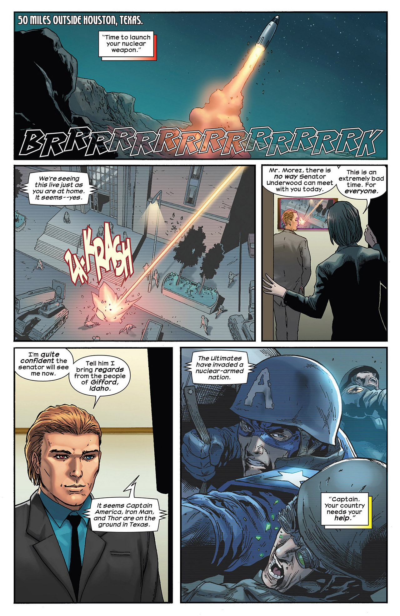 Read online Ultimate Comics Ultimates comic -  Issue #14 - 5