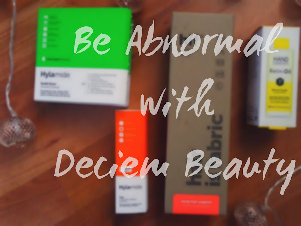 Be Abnormal with Deciem Beauty*