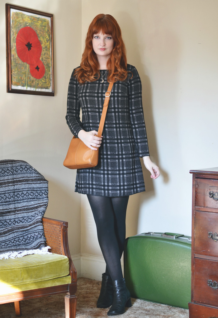 The Flying Clubhouse: Black Plaid