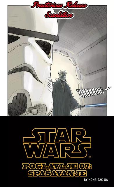 Spasavanje 1- (Webcomic Star Wars) - Ratovi Zvezda