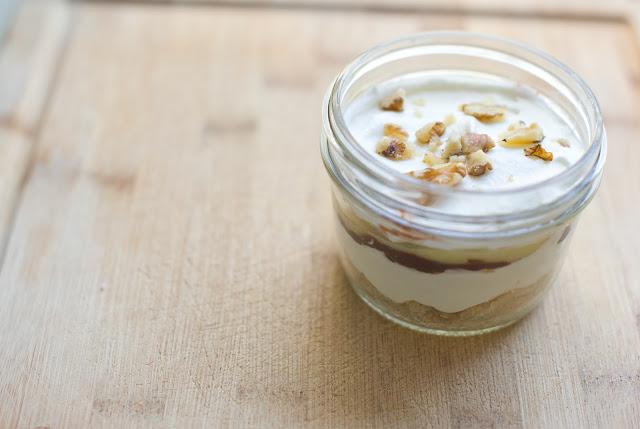 Domestic Fashionista Chocolate Vanilla Pudding Walnut
