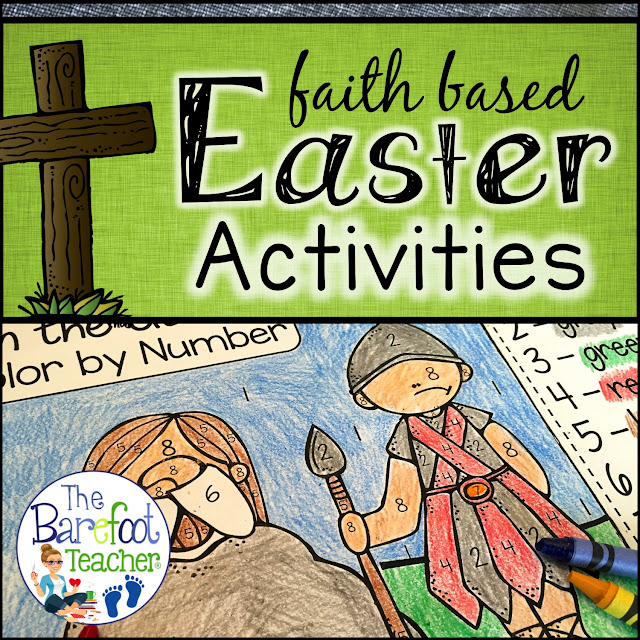 You'll want to download this FREE Easter printable! It will go right along with the other activities you have planned for your Preschool, Kindergarten, or First Grade kids! It reflects on the moments Jesus had in the Garden of Gethsemane, while also reinforcing color word and number recognition at the same time.