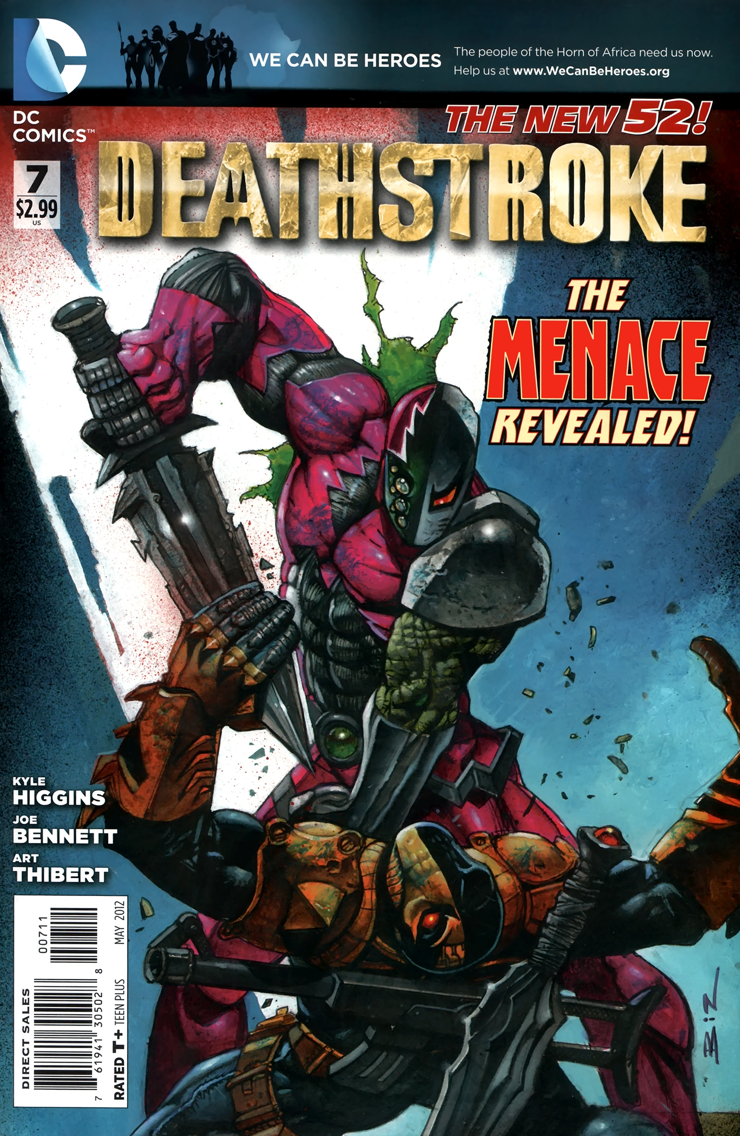 Deathstroke (2011) issue 07 - Page 1