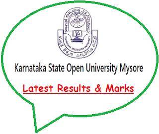 Karnataka State Open University Result 2020
