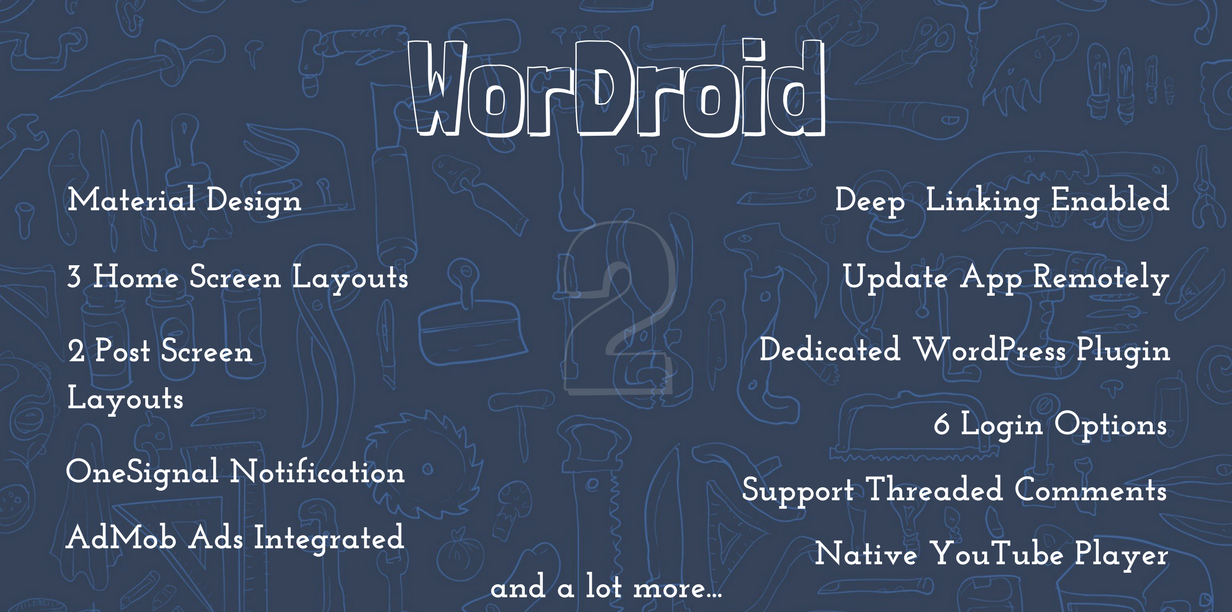 WorDroid - Full Native WordPress Blog App - 3