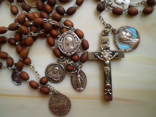 Collecting Antique Rosaries Fabulous Antique 15 Decade