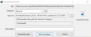 Cara Download Film di Indoxxi dengan IDM di Laptop