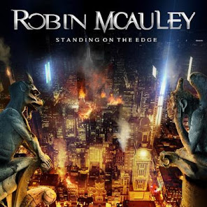McAuley, Robin Standing On The Edge Frontiers Records May 14, 2021