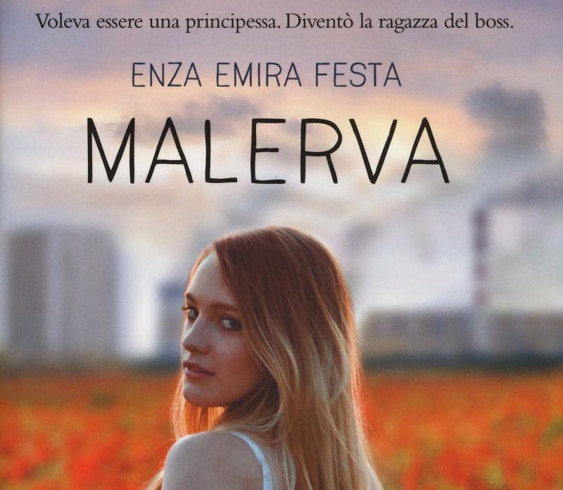 Coperitna del romanzo Malerva di Enza Emira Festa