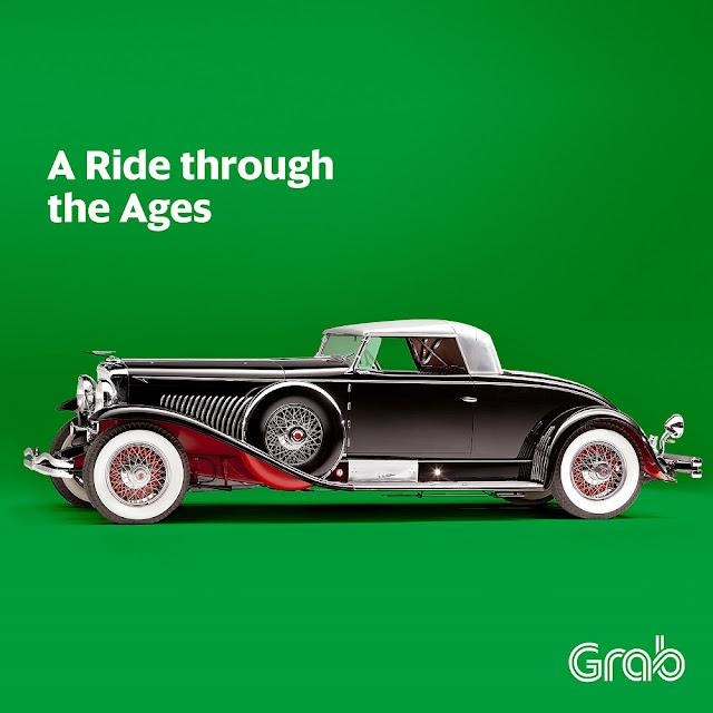 ride GrabPH's Vintage GrabCar in BGC
