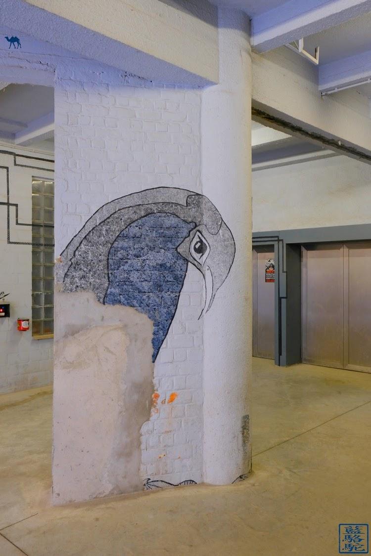 Le Chameau Bleu - Street Art  Vooruit - Gent - Belgium