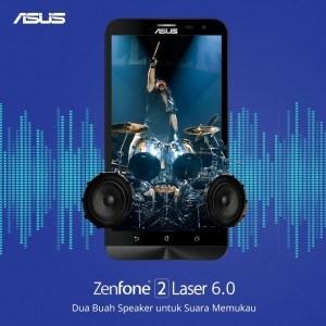Zenfone 2 Laser 6.0 ZE601KL, Multimedia Sempurna dengan Layar 6 Inci Full HD
