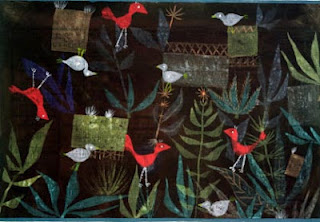 Paul Klee painting - Bird Garden