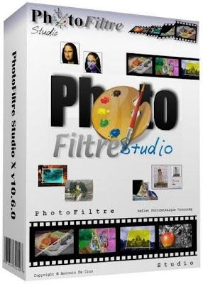 تحميل برنامج PhotoFiltre Studio X 10 مجانا لاضافة التأثيرات علي الصور
