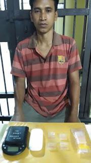 Polisi Tangkap Bandar Sabu Tanjung Raja