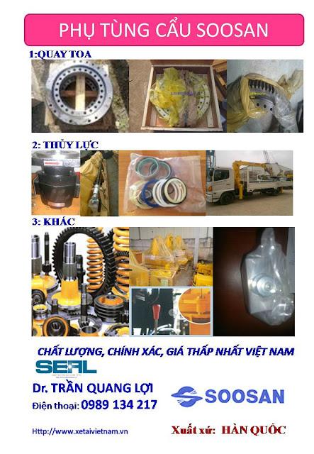 Sửa chữa xe tải gắn cẩu SOOSAN – trung tu, đại tu xe cẩu thùng SOOSAN đảm bảo chất lượng, giá rẻ nhất Việt Nam.