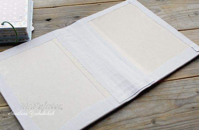 24Как сделать обложку для книги из ткани