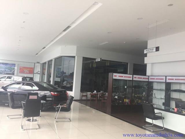 Phòng trưng bày Toyota Nam Định