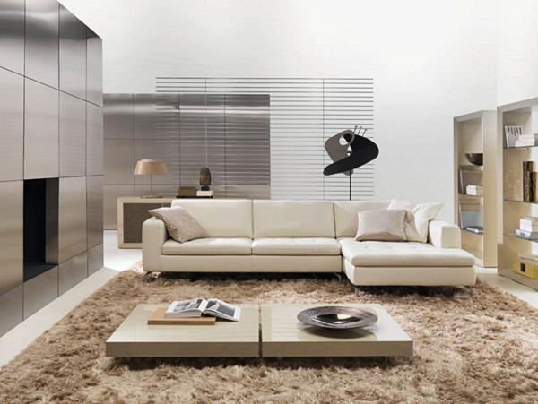 Model Kursi Sofa Minimalis Terbaru Untuk Santai di Ruang Keluarga - Model Sofa Minimalis Putih Elegan
