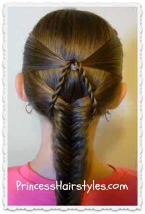 suspended fishtail braided hairstyle  hairstyles for