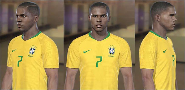 Douglas Costa Face PES 2018