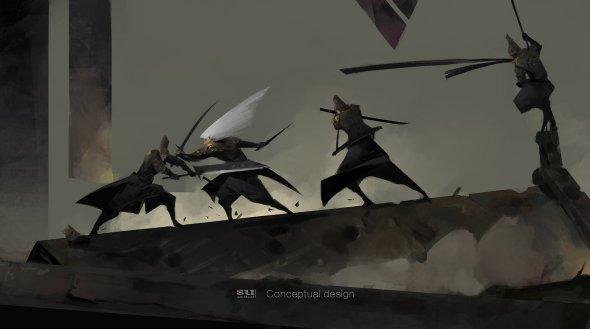 Zhihui Su artstation arte ilustrações fantasia oriental chinesa medieval sombria