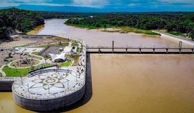 Tempat Wisata Bendungan Kamijoro Pinggir Sungai Progo