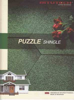 Atap Bitutech Shingle Puzzle