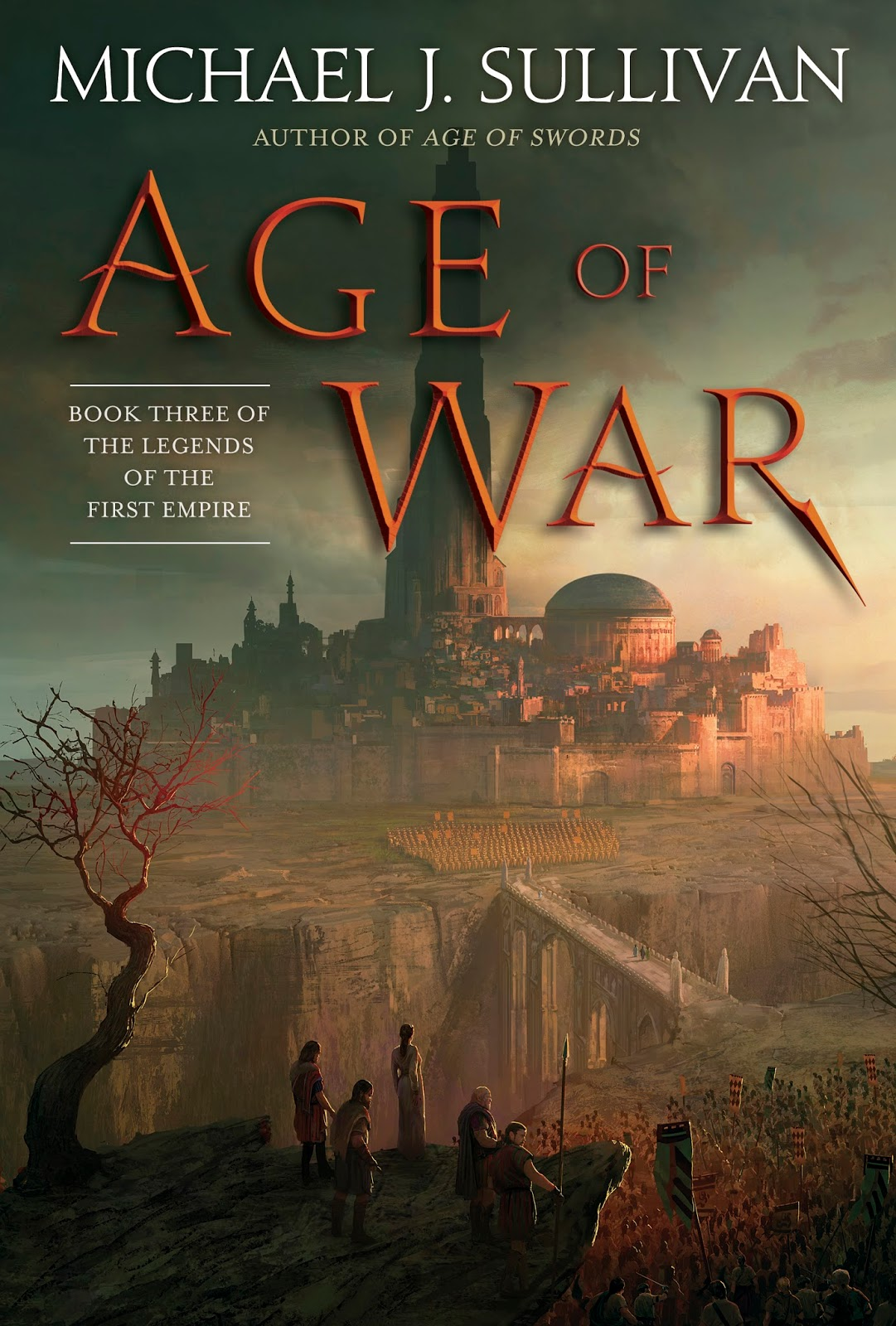 Cover Reveal And Teaser Extract From Michael J Sullivan's Age Of War  (updated)