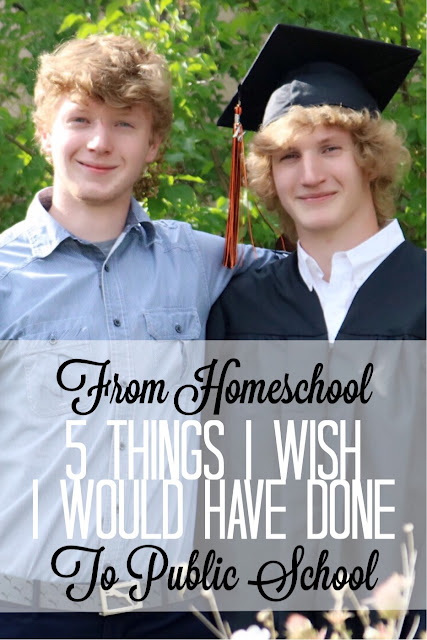 5 Things I Wish I Would Have Done Going from Home School to Public School