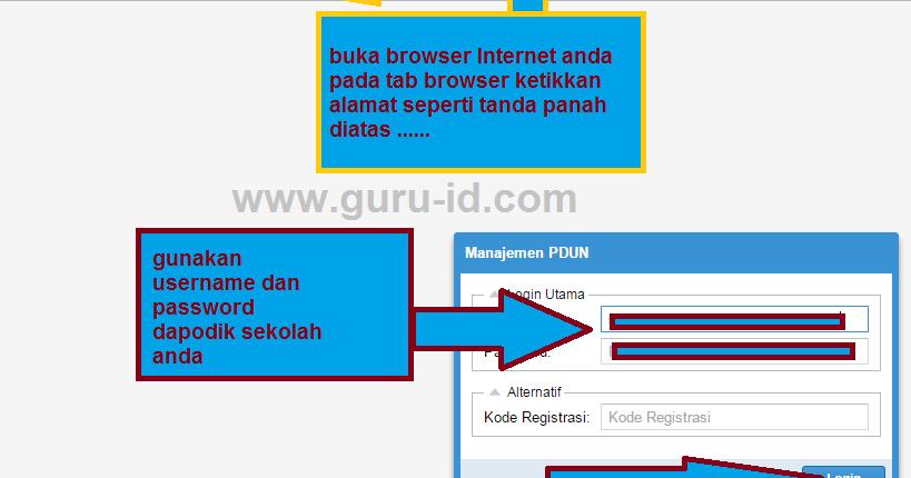 Http Pdun Data Kemdikbud Go Id Link Terbaru Cek Data Dan Peserta Un Sd Smp Sma Smk Tahun