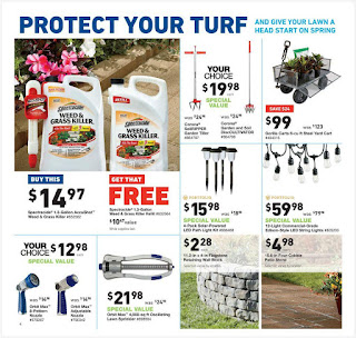 Lowe's Weekly Ad March 8 - 14, 2018