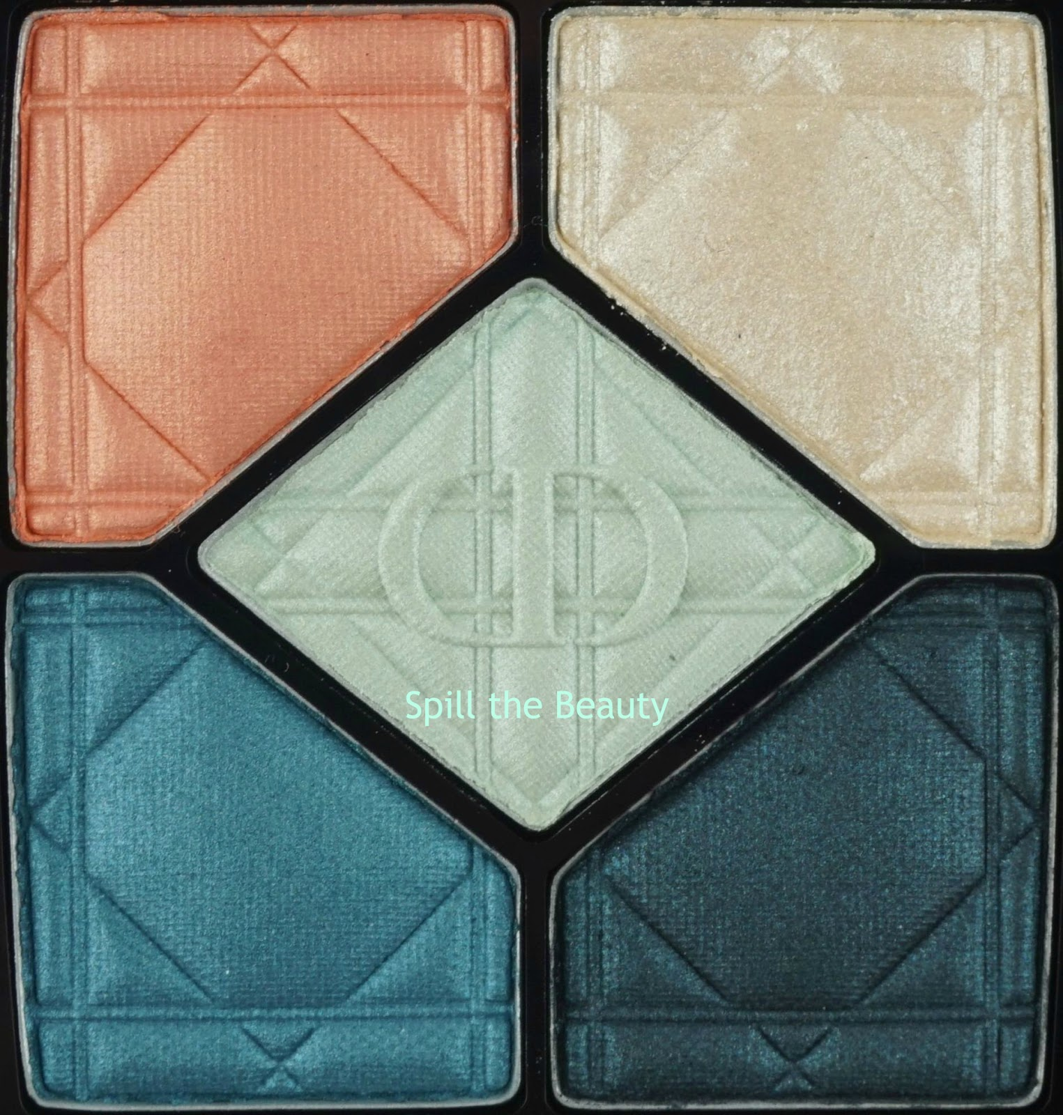 Dior 5 Couleurs Eyeshadow Palette 'Electrify'