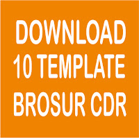 Download 10 Template Brosur Format CDR