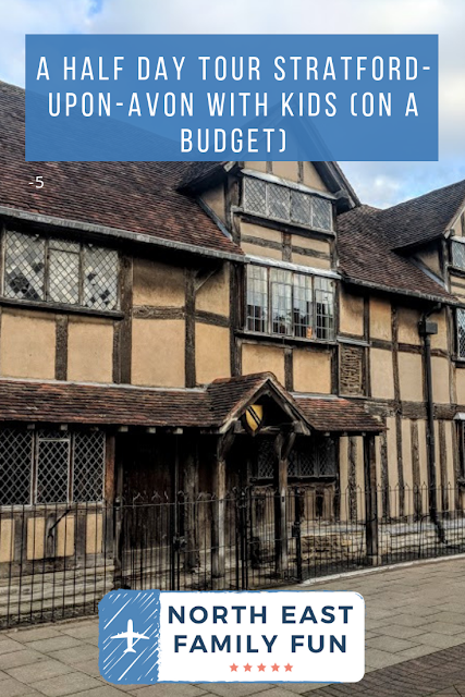 A Quick Guide to Visiting Stratford-Upon-Avon with Kids (on a budget)