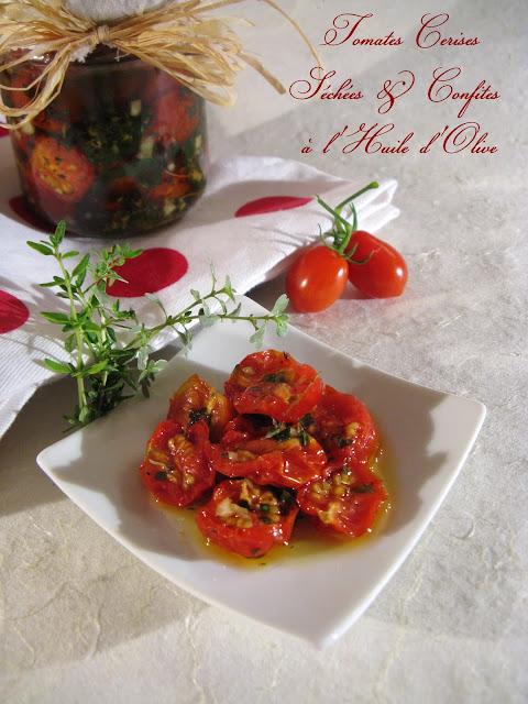 j 39 en reprendrai bien un bout tomates cerises s ch es confites l 39 huile d 39 olive. Black Bedroom Furniture Sets. Home Design Ideas