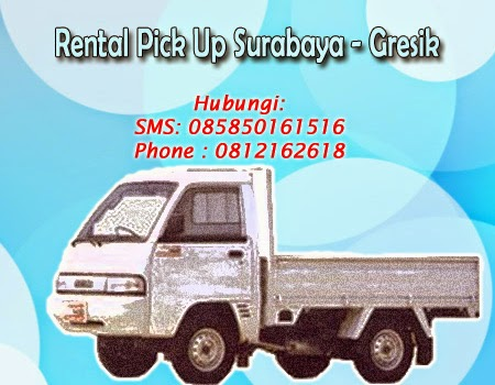 Rental Pick up Zebra Surabaya-Gresik