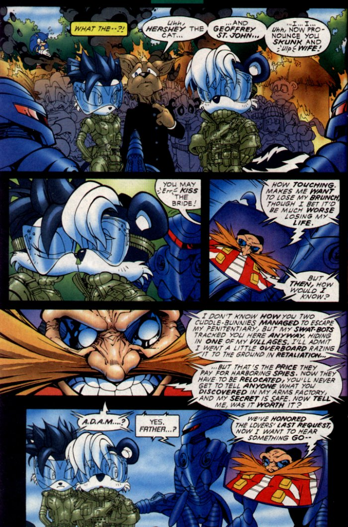 Read online Sonic The Hedgehog comic -  Issue #130 - 5