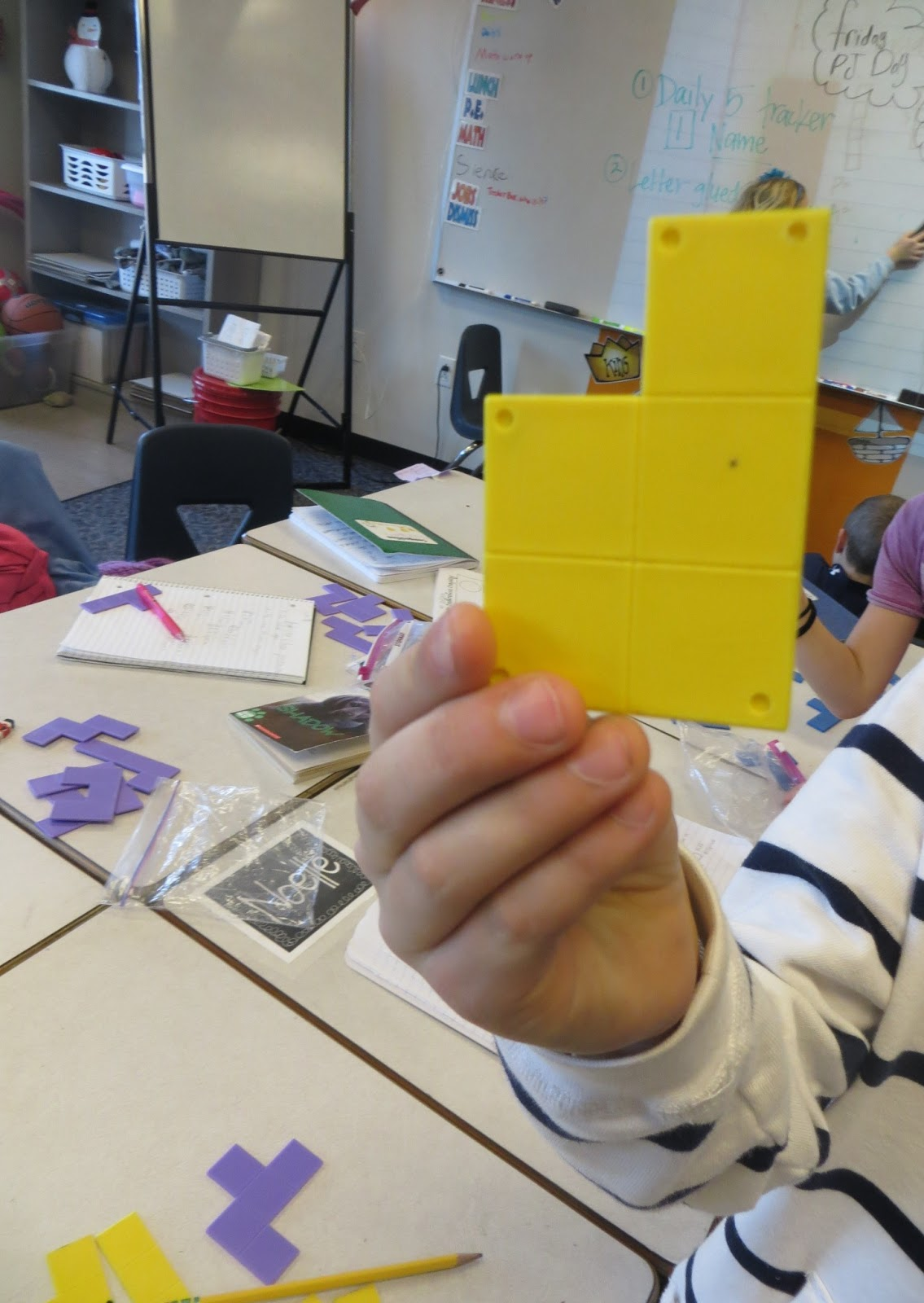 Teaching Perimeter And Area With The Magic Pentomino