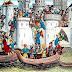 La Cuarta Cruzada saquea Constantinopla