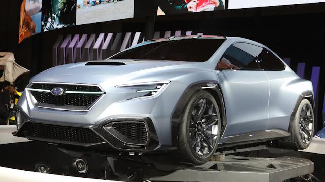 Следующий Subaru WRX STI будет гибридом
